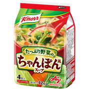 クノール® たっぷり野菜のちゃんぽん風スープ