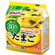 クノール® ふんわりたまごスープ 塩分30%カット